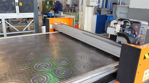 High Temperature Gaskets and Cutting Machine