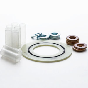 Insulating gasket kits Isolates electrical conductivity